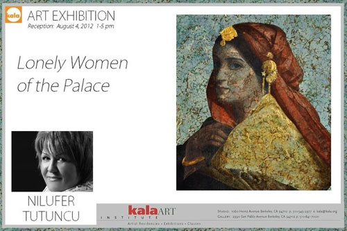 Nilufer Tutuncu's exhibition of paintings